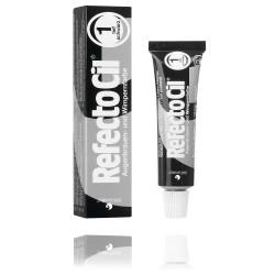 Teinture pour cils et sourcils RefectoCil No.1 Noir Profond, 15 ml boite