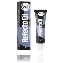 Teinture pour cils et sourcils RefectoCil No.2, 15 ml bleu-noir