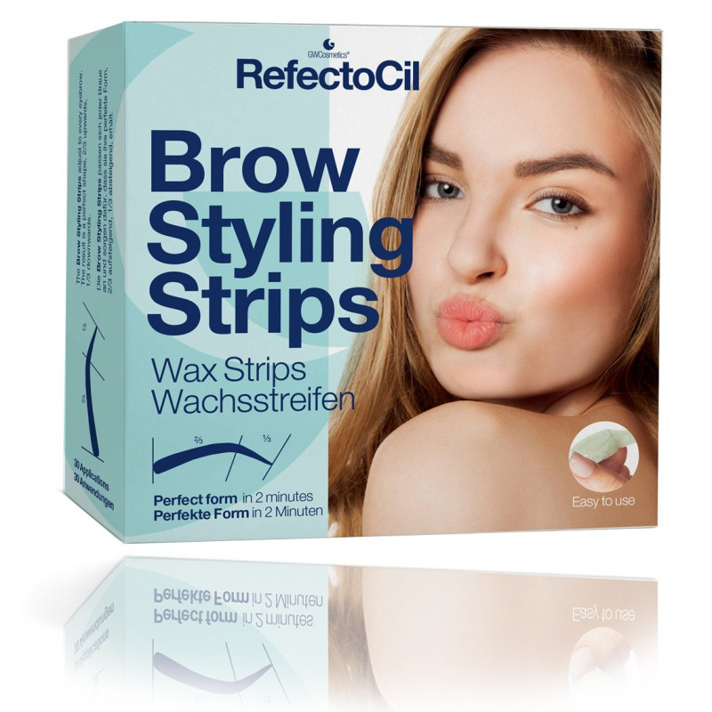 Bandes d'épilation RefectoCil Brow Styling Strips 30 applications