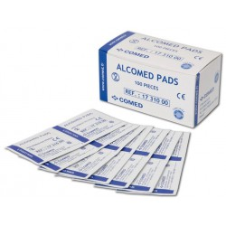 Lingettes Alcomed Pads