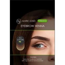 Teinture pour sourcils au henné Blond