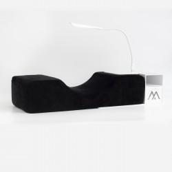 Oreiller + Structure de rangement blanc